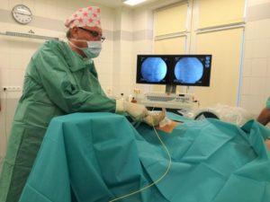 Laserová operácia chrbtice